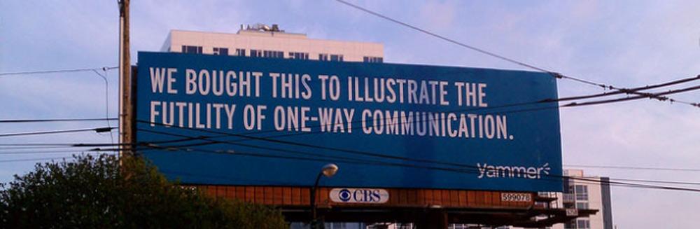 Billboard, Print and Radio vs Web Marketing